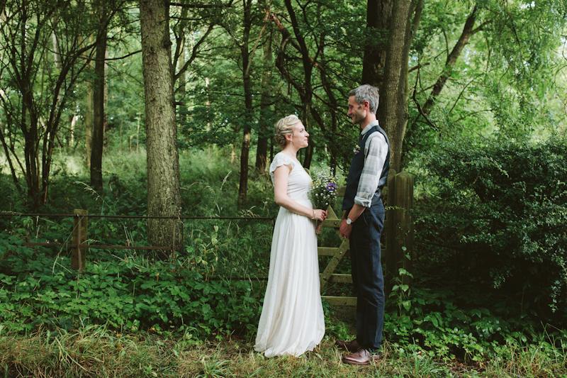 Lucie & Greg – Rustic Woodland Wedding in Shropshire