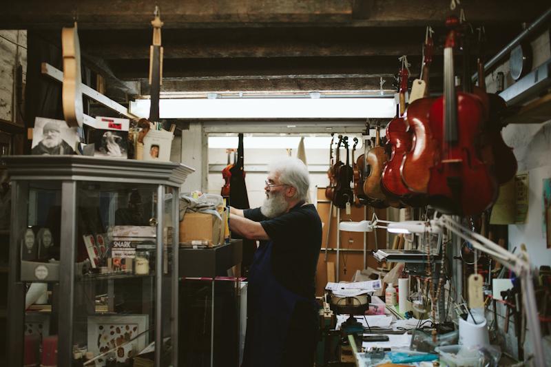 Phoenix Violins – Portrait of a Craftsman