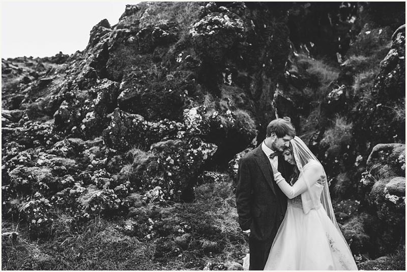 Iceland Hotel Budir Wedding – Ro & Mike